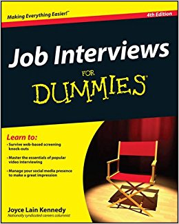 Worthy Book-Review – Job Interviews For Dummies