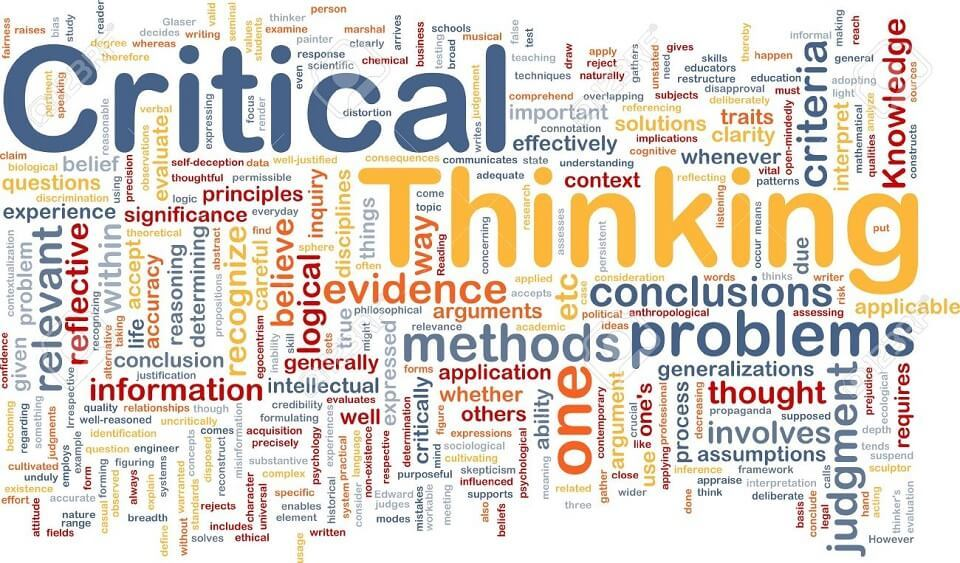 What is meant by Critical Thinking?
